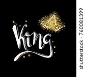 king logo template. king icon.... | Shutterstock .eps vector #760081399