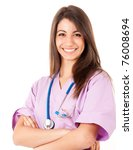 Young Medical Worker Smiling
