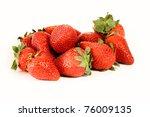 strawberries | Shutterstock . vector #76009135
