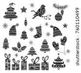 christmas tribal design