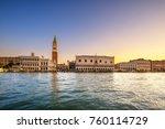Venice Landmark At Dawn  View...