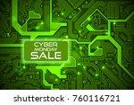 sale technology banner for... | Shutterstock .eps vector #760116721