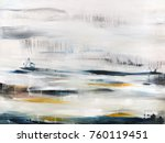 abstract modern painting... | Shutterstock . vector #760119451