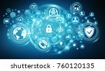 personal data information... | Shutterstock . vector #760120135