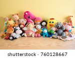 Soft Toys In A Child\'s Bedroom