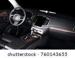 modern luxury prestige car...   Shutterstock . vector #760143655