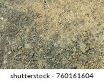 rusted painted metal wall....   Shutterstock . vector #760161604