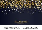 abstract background of falling... | Shutterstock .eps vector #760165735