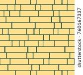 seamless texture of a brick... | Shutterstock . vector #760167337