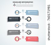 infographic design vector and... | Shutterstock .eps vector #760171981
