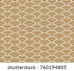 wave pattern vector in... | Shutterstock .eps vector #760194805