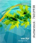vector leaves | Shutterstock .eps vector #76019938