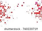 light red vector abstract... | Shutterstock .eps vector #760220719
