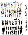 isometric people  children ...   Shutterstock . vector #760224661