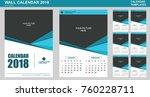 Vector Design Of Wall Calendar...