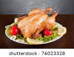 Roast Chicken With Fresh...
