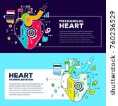 vector set of template with... | Shutterstock .eps vector #760236529