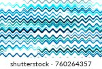 hand drawn waves in watercolor... | Shutterstock .eps vector #760264357