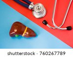 design concept of diagnosis and ... | Shutterstock . vector #760267789