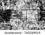 grunge black and white pattern. ... | Shutterstock . vector #760269019