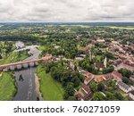 aerial shot over europe's...   Shutterstock . vector #760271059