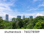 singapore nature and buildings | Shutterstock . vector #760278589