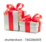 christmas and new year's day  ...   Shutterstock . vector #760286005