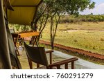 afternoon view of verandah of... | Shutterstock . vector #760291279
