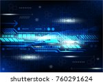 abstract background digital and ... | Shutterstock .eps vector #760291624