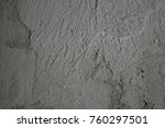 rough plastered wall | Shutterstock . vector #760297501