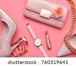fashion design woman... | Shutterstock . vector #760319641