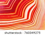 amazing banded red agate...   Shutterstock . vector #760349275