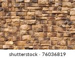 brown brick wall | Shutterstock . vector #76036819