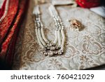 indian traditional jewerly  and ... | Shutterstock . vector #760421029
