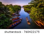 rafting on the white river  in... | Shutterstock . vector #760422175