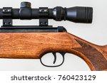 Small photo of Telescopic Sight on gun