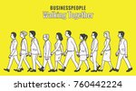 vector illustration full length ... | Shutterstock .eps vector #760442224