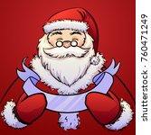 vector illustration christmas... | Shutterstock .eps vector #760471249