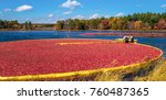 carlisle  ma  usa   october 17  ... | Shutterstock . vector #760487365
