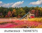 carlisle  ma  usa   october 17  ... | Shutterstock . vector #760487371