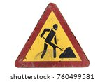 old dirty rusty scratched... | Shutterstock . vector #760499581