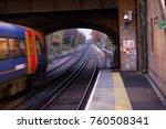 a southwestern rail train... | Shutterstock . vector #760508341