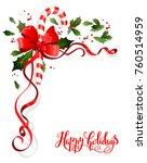 christmas festive ornament for...   Shutterstock .eps vector #760514959