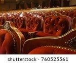 Empty Baroque Theater Seats.