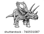 Graphical Triceratops Isolated...