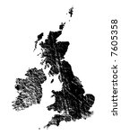 outline of great britain and...
