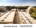 the ali qapu palace on the...   Shutterstock . vector #760550929