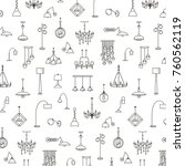 vector pattern background with... | Shutterstock .eps vector #760562119