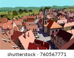 Little German Town In The...