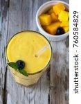 beautiful and homemade fresh... | Shutterstock . vector #760584829